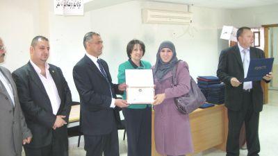 شركة التأمين الوطنية تختتم مشاركتها في يوم التوظيف    في جامعة القدس المفتوحة في مدينة الخليل